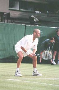 Maintaining concentration in tennis is a challenging task
