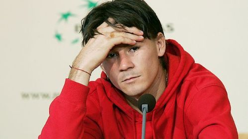 Guillermo Coria lost confidence in his tennis abilities