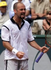 Andre Agassi being mentally tough