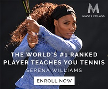 serena williams lessons