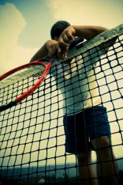 Losing confidence in tennis
