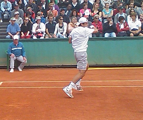 Tommy Haas at Roland Garros 2009