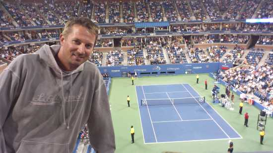 Night Session At The US Open 2011