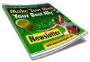 tennis newsletter