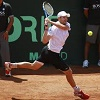 weaker shot in tennis